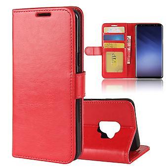 Fall für Samsung Galaxy S9 red Wallet
