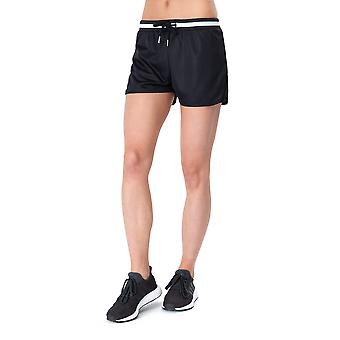 Hype Black Retro Sport Women's Running Shorts