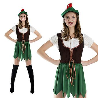 Robin Hood Lady Archer costume ladies