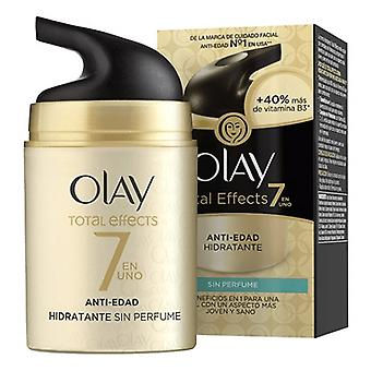 Anti-Ageing Hydrating Cream Total Effects Olay (50 ml)