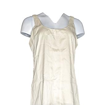 G.I.L.I. got it love it Women's Top Sleeveless Scp Neck Top Ivory A262718
