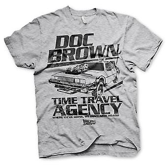 Back to the Future Doc Brown Marty McFly Official T-Shirt