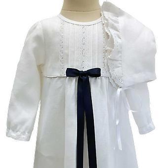 Jublende kjole nåde af Sverige, Navy blå bue og Dophätta tr. v. l