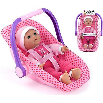 Poupées monde Isabelle Doll et siège-auto