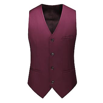 Allthemen mannen ' s suit vest V-hals Business Casual vest