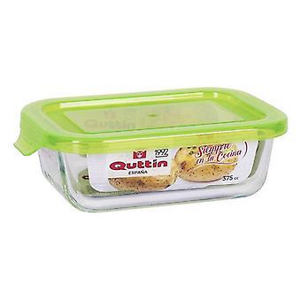 Rechthoekige lunchbox met Deksel Quttin/1500 cc - 23 x 17,5 x 7,6 cm