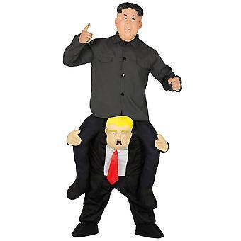 Mens La Meg Gå President Fancy Kjole Kostyme