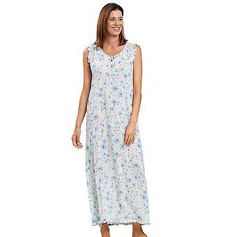 Feraud 3201013-11732 Women's Couture Soft Multicolour Flowers Loungewear Nightdress