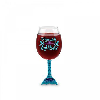 BigMouth Inc. Mermaid Tail Wine Glass