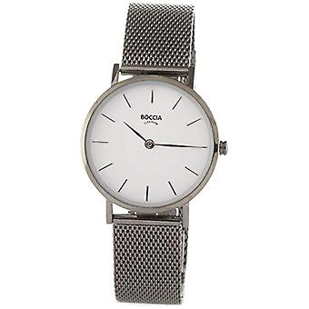 Boccia Ladies Quartz analogue watch with stainless steel band 3281-04