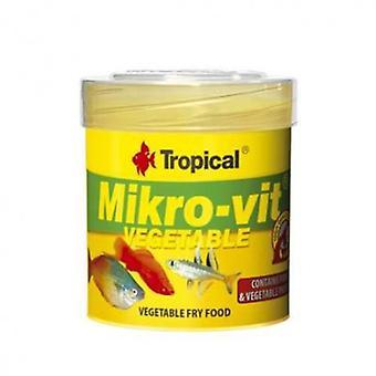 Tropical Vegetable Mikrovit 50 Ml (Fish , Food , Warm Water)