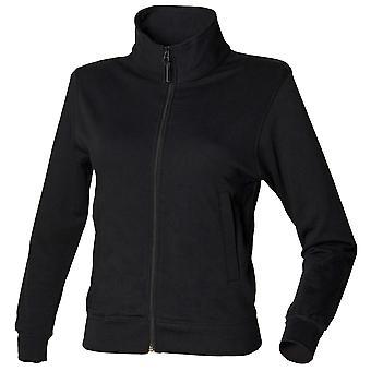 Skinni Fit Womens/Ladies Essential Zip Through Sweatshirt / Light Jacket
