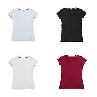 Stedman Womens/Mesdames Claire Crew Neck Tee