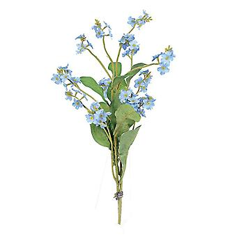 Artificial Silk Forget me Not