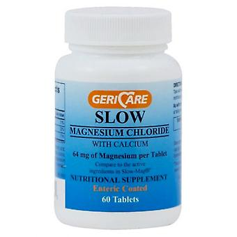 Gericare slow magnesium chloride with calcium, tablets, 60 ea