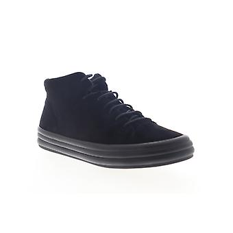Camper Hoops  Womens Black Suede Lace Up Low Top Sneakers Shoes
