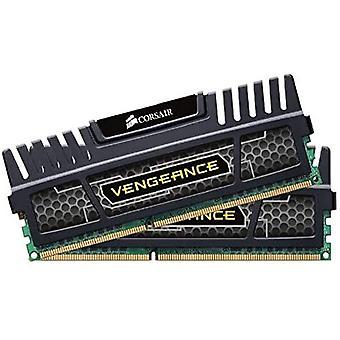 قرصان CMZ16GX3M2A1600C9 ذاكرة سطح المكتب الانتقام، 16 غيغابايت (2x8 GB)، DDR3، 1600 ميغاهرتز، CL9، مع دعم XMP، أسود