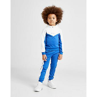 New Mckenzie Kids' Mini Bixente 1/4 Zip Tracksuit Blue