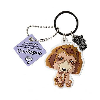 Wags & Whiskers Cockapoo Keyring