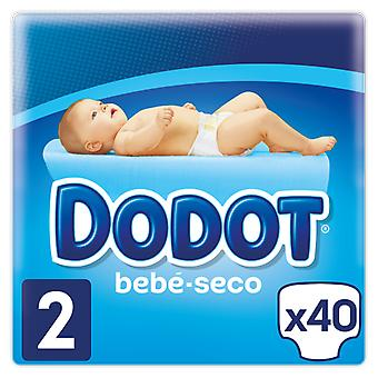 Dodot Baby Dry Diaper Size 2 of 40 Units (Baby & Toddler , Diapering , Diapers)