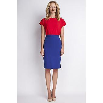 Blåklint blå lanti kjolar