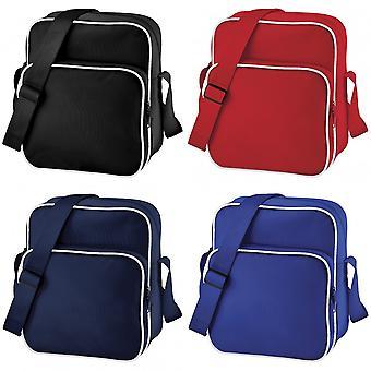 Bagbase регулируемые ретро день сумка (10 литров)