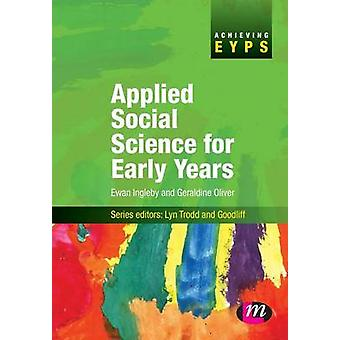 Applied Social Science for Early Years by Ingleby & Ewan