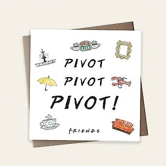 Cardology Friends Tv Pivot Pivot Pivot! Greeting Card