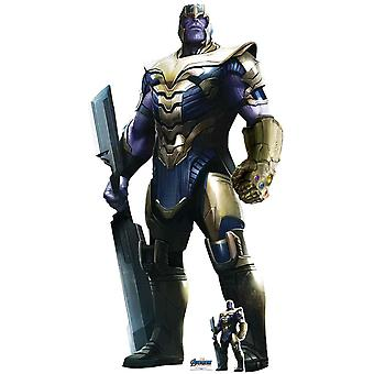 Thanos from Marvel Avengers: Endgame Official Lifesize Cardboard Cutout