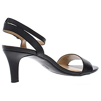 Naturalizer Womens Hattie leer Open teen speciale gelegenheid Slingback sandalen