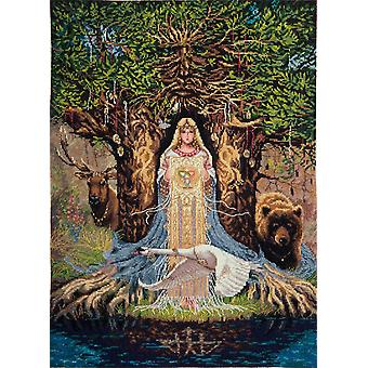 Panna Cross Stitch Kit : Mystic Scene