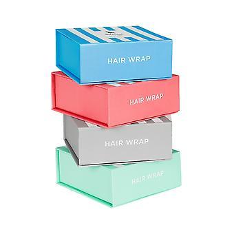 Dock & bay hair wrap - snel droge haarhanddoek - cabana licht - 4 set