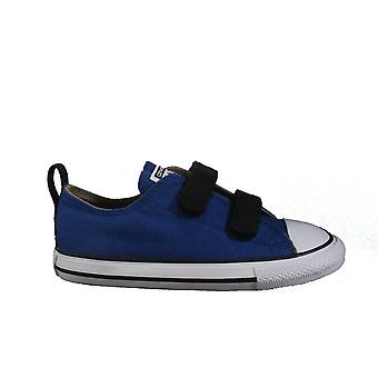 Converse Chuck Taylor All Star 2V 751719C Blue Childrens Unisex Rip Tape Sneaker Shoes