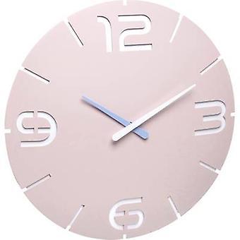 TFA Dostmann 60.3536.16 Radio Wall clock 35 cm x 3.5 cm Rose