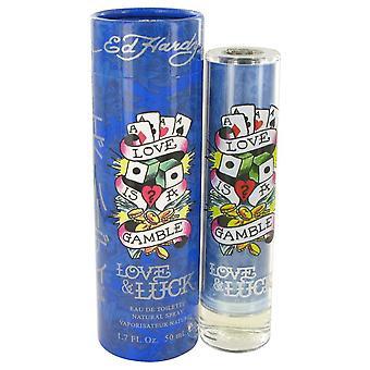 Liebe & Luck Eau De Toilette Spray von Christian Audigier 1,7 oz Eau De Toilette Spray