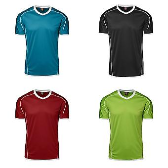 ID Mens Team Sport Fitted Short Sleeve T-Shirt