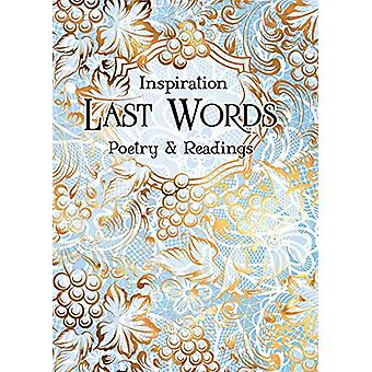 Last Words - Poetry & Readings by Flame Tree Studio - 978183964163