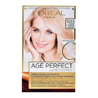 Pysyvä Anti-Ageing Väriaine Excellence Age Perfect L & apos; Oreal Expert Professionnel Blonde