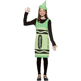 Costume de Teens crayon Crayola vert