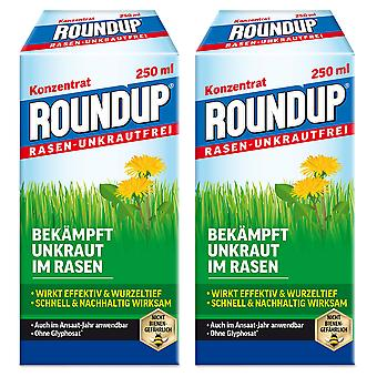 Sparset: 2 x ROUNDUP® Lawn Weed-Free, 250 ml