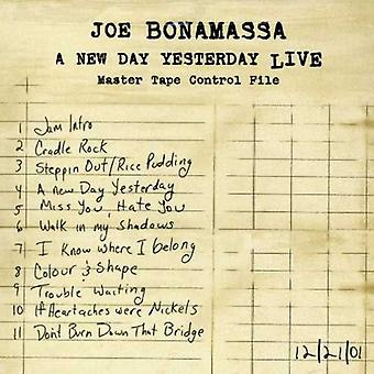 Joe Bonamassa - New Day Yesterday Live [CD] USA import