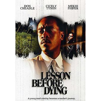 Lektionen innan dör [DVD] USA import