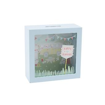 CGB Giftware Happy Glampers Money Box