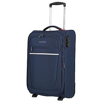 travelite Handbagage Trolley S, 2 wielen, 55 cm, 36 L, blauw