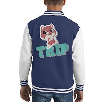 Littlest Pet Shop Trip Kid's Varsity Jacket