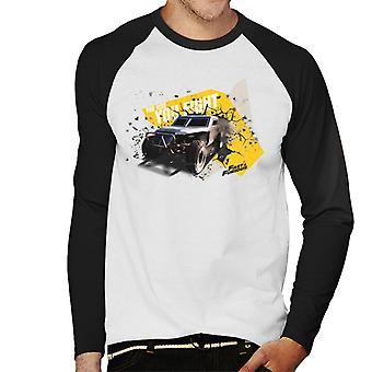 Nopea ja raivoissaan olet taistella miesten ' s baseball pitkähihainen T-paita