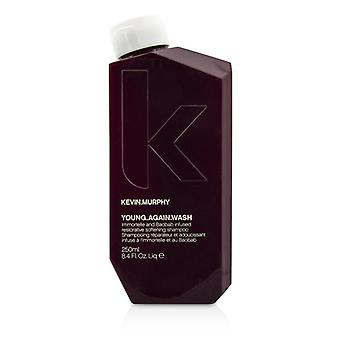 Kevin Murphy Young.Again.Wash (Immortelle and Baobab Infused Restorative Softening Shampoo - To Dry Brittle Hair) 250ml/8.4oz