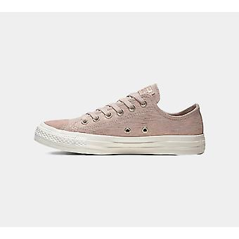 Converse Chuck Taylor All Star Precious Metal Suede Women'S Low Top Taupe Chaussures Boots