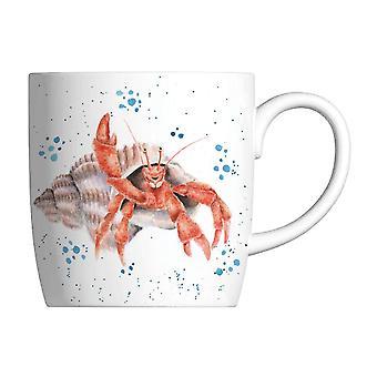 Wrendale Happy Crab Hermit Crab Mug
