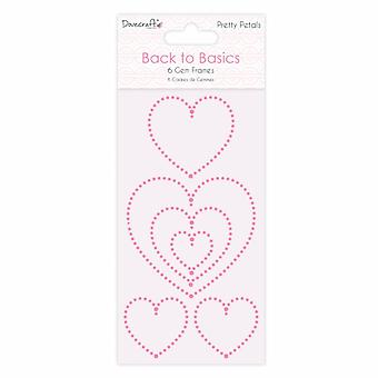Dovecraft Back to Basics Pretty Petals Gem Frames